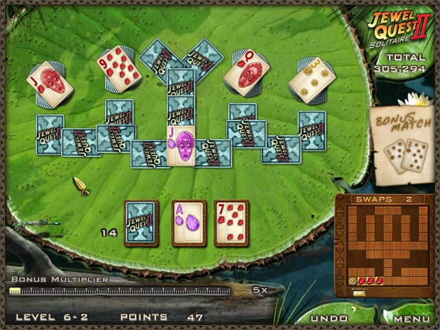 Game screenshot 2 Jewel Quest Solitaire II