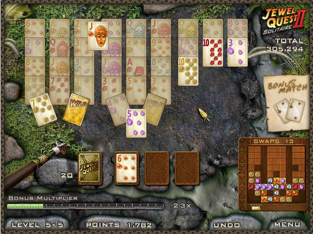 Game screenshot 3 Jewel Quest Solitaire II