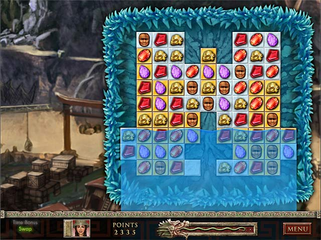 Game screenshot 1 Jewel Quest: The Sapphire Dragon