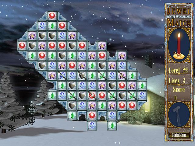 Game screenshot 1 Jewel Match - Winter Wonderland