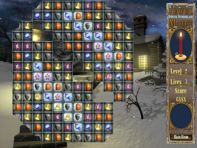 Game screenshot 3 Jewel Match - Winter Wonderland