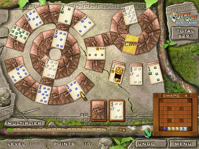Game screenshot 1 Jewel Quest Solitaire