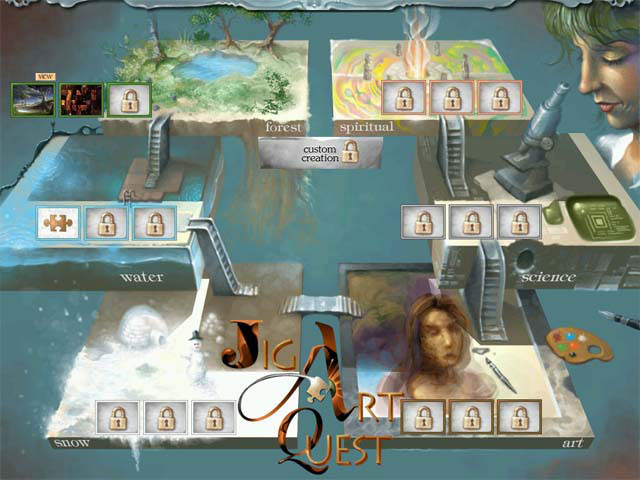 Game screenshot 2 Jig Art Quest