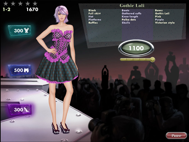 Barbie Fashion Show Games Online of this game for FREE