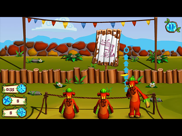 Game screenshot 2 Jungle vs. Droids