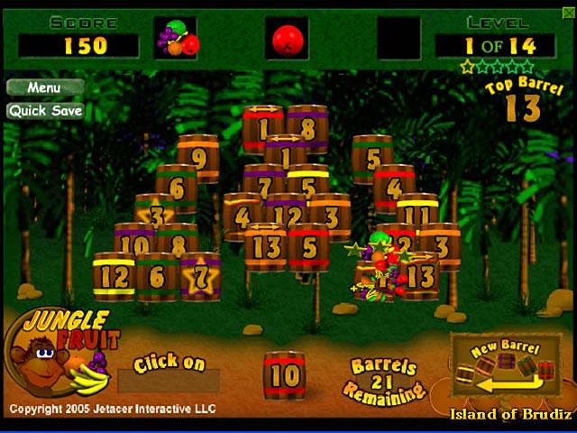 Game screenshot 1 Jungle Fruit