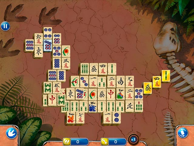 Game screenshot 1 Jurassic Mahjong