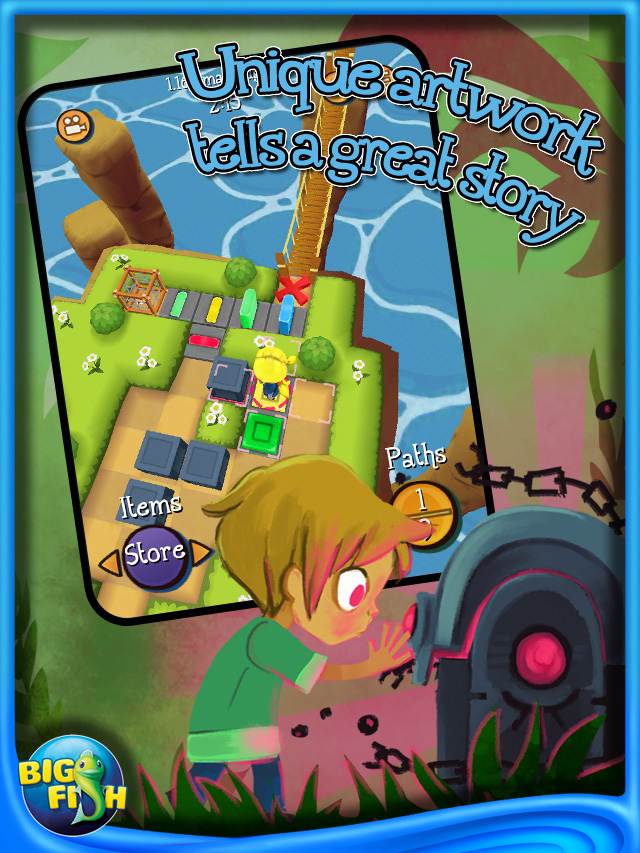 Kaia s quest ipad iphone android mac pc game big fish for Big fish games android