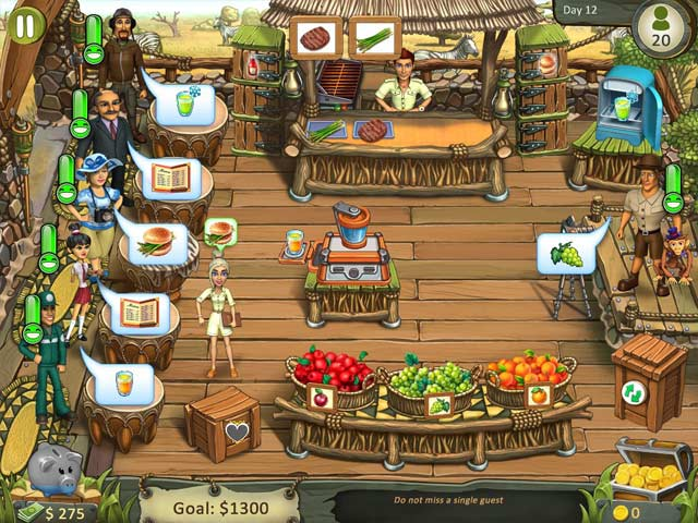 Katy and Bob: Safari Cafe img