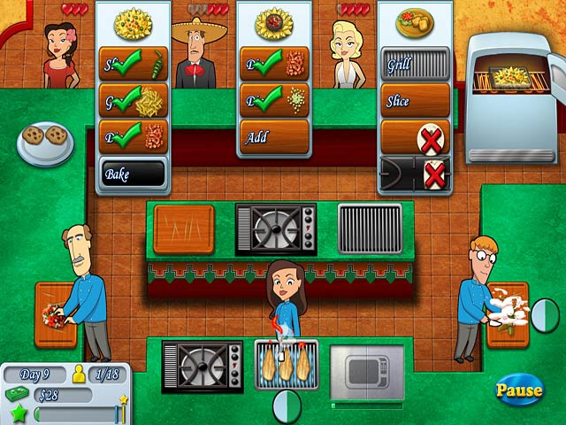 Restaurant Kitchen Brigade kitchen brigade > ipad, iphone, android, mac & pc game | big fish