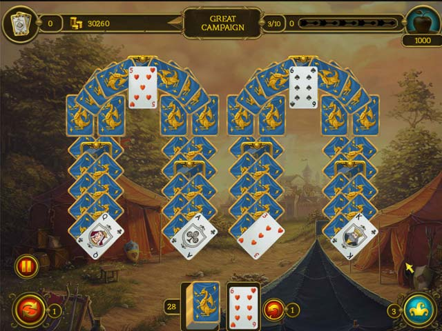 Game screenshot 1 Knight Solitaire 2