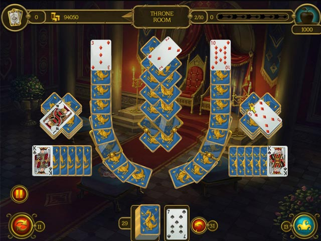 Game screenshot 1 Knight Solitaire 3