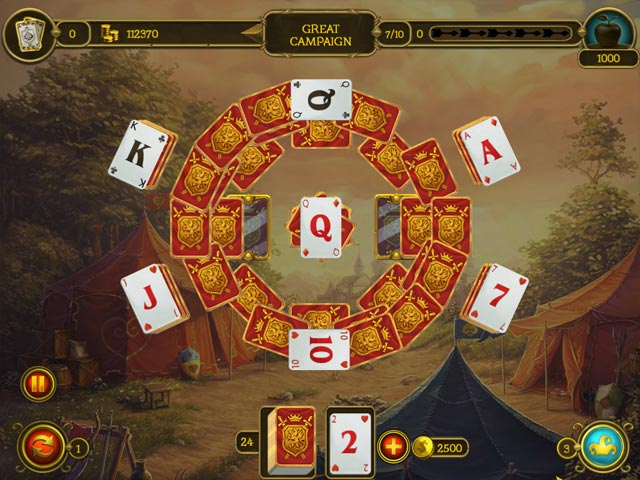 Game screenshot 1 Knight Solitaire