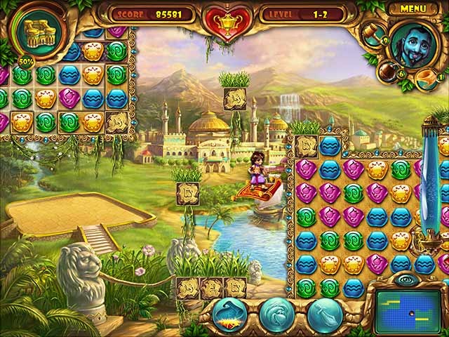 Play lamp of aladdin online games big fish for Big fish games free download full version