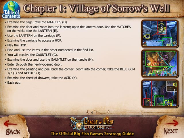 Game screenshot 3 League of Light: Dark Omens Strategy Guide