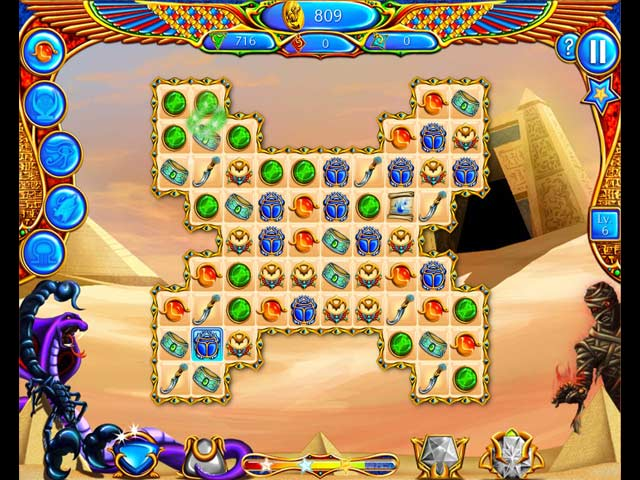Game screenshot 1 Legend of Egypt: Jewels of the Gods