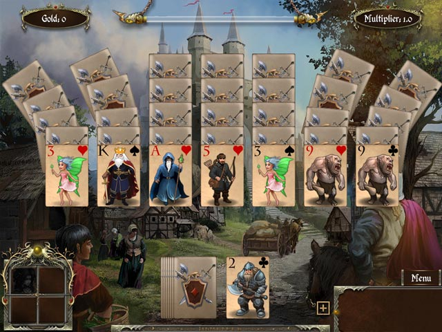 Game screenshot 1 Legends of Solitaire: Curse of the Dragons