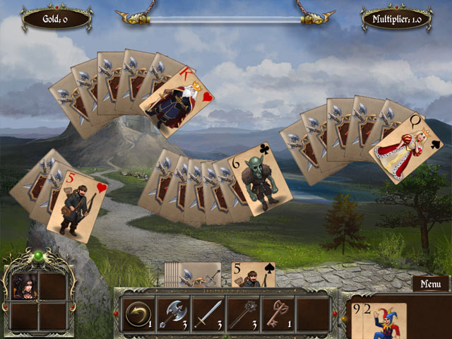 Game screenshot 2 Legends of Solitaire: Curse of the Dragons