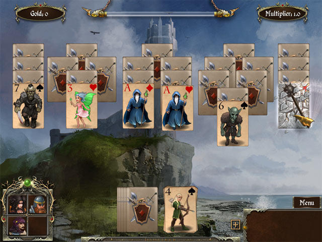 Game screenshot 3 Legends of Solitaire: Curse of the Dragons