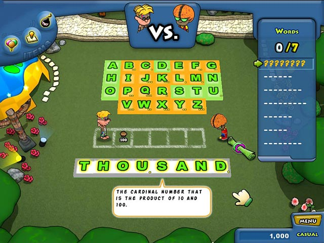 Game screenshot 1 Lex Venture: A Crossword Caper