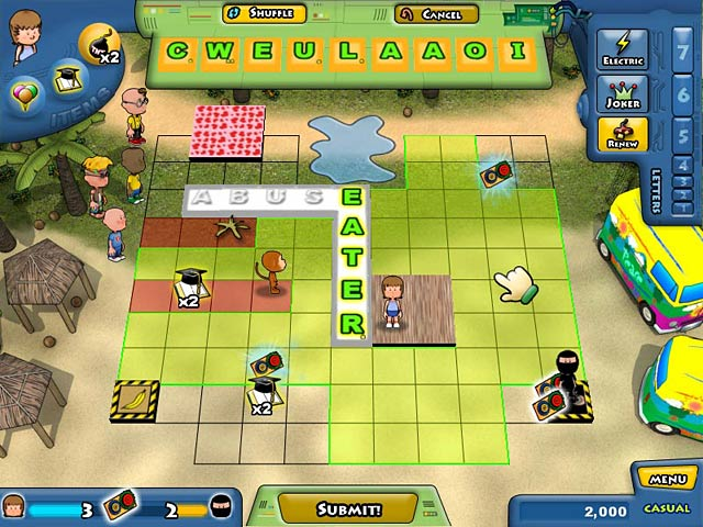 Game screenshot 2 Lex Venture: A Crossword Caper