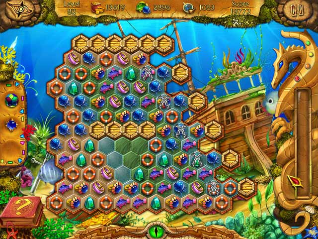 Game screenshot 1 Lost in Reefs