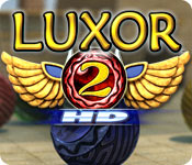 Feature screenshot game Luxor 2 HD
