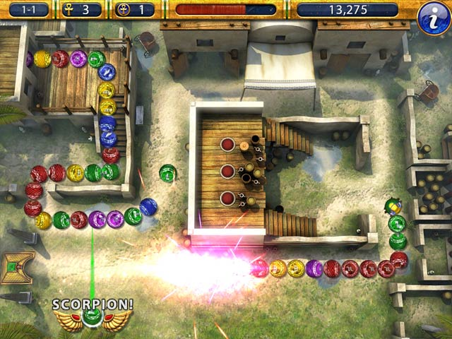 Game screenshot 2 Luxor 2 HD