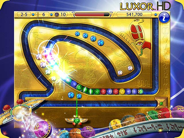 Game screenshot 1 Luxor HD