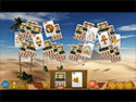 1. Luxor Solitaire game screenshot