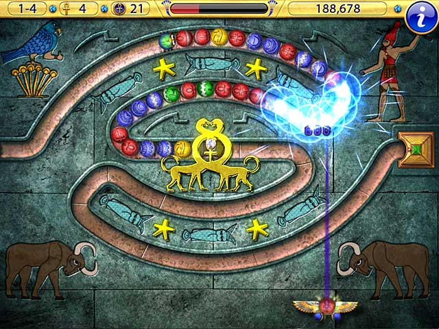 Game screenshot 1 Luxor Amun Rising