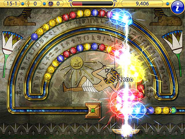 Game screenshot 2 Luxor Amun Rising