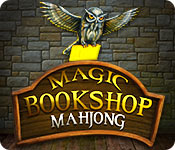 Feature screenshot game Magic Bookshop: Mahjong