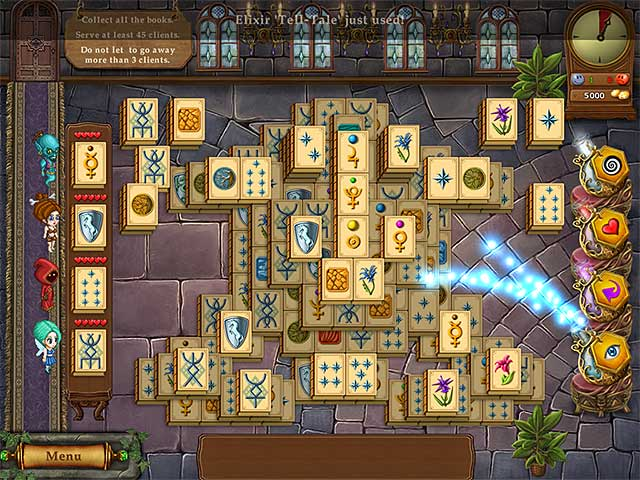 Game screenshot 3 Magic Bookshop: Mahjong