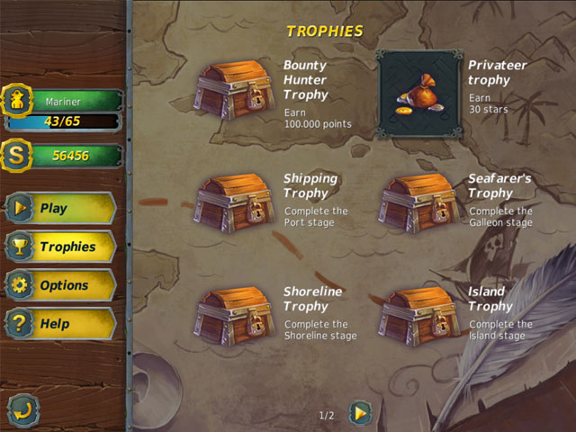 Game screenshot 2 Mahjong Gold 2: Pirates Island