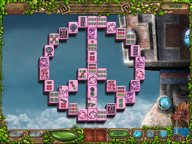 Mahjong Legacy of the Toltecs screen 1