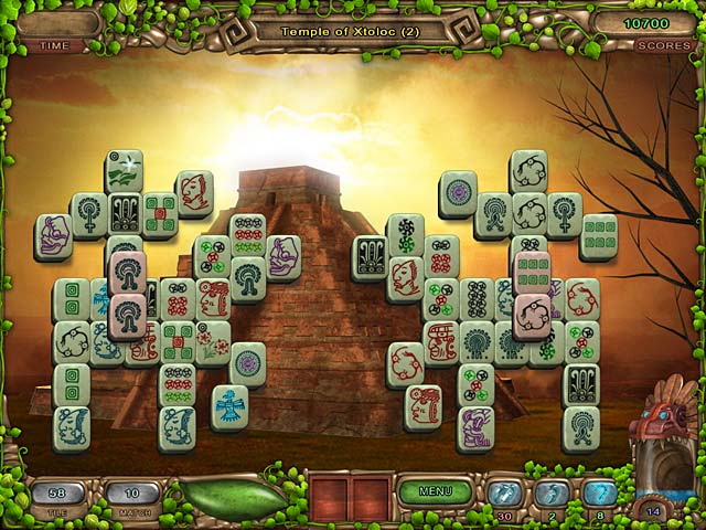 Mahjong Legacy of the Toltecs screen 2