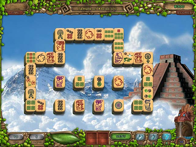 Mahjong Legacy of the Toltecs Screenshot
