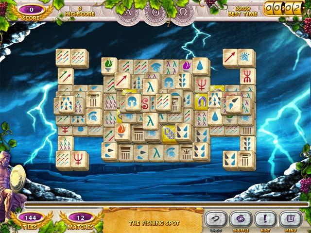 Mahjong Mysteries: Ancient Athena Screen 3