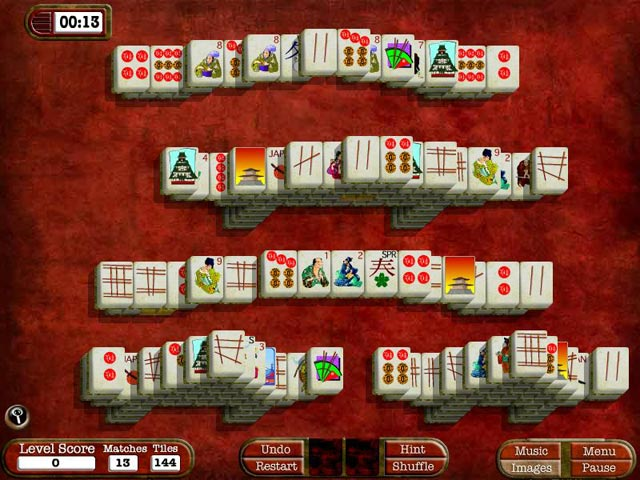 Game screenshot 1 MahJong Adventures