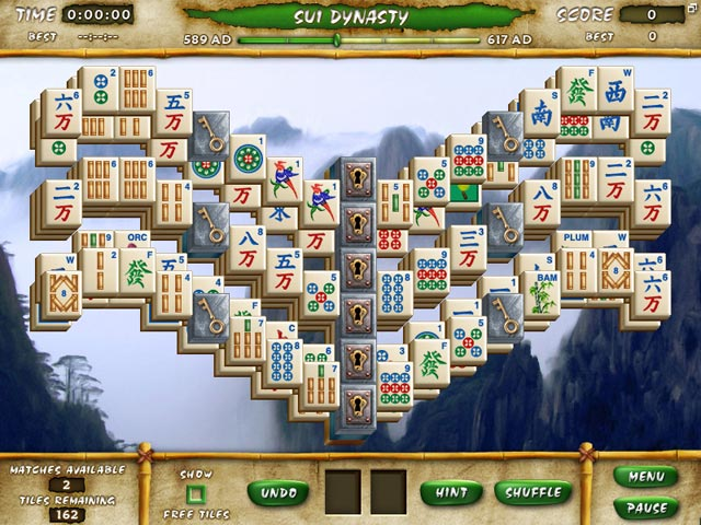 Mahjong Escape Ancient China Screenshot-1