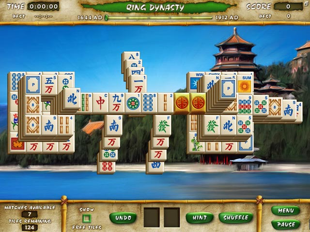 Mahjong Escape Ancient China Screenshot-2