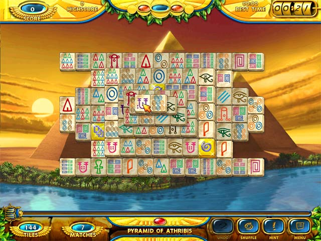 Game screenshot 1 Mahjongg - Ancient Egypt