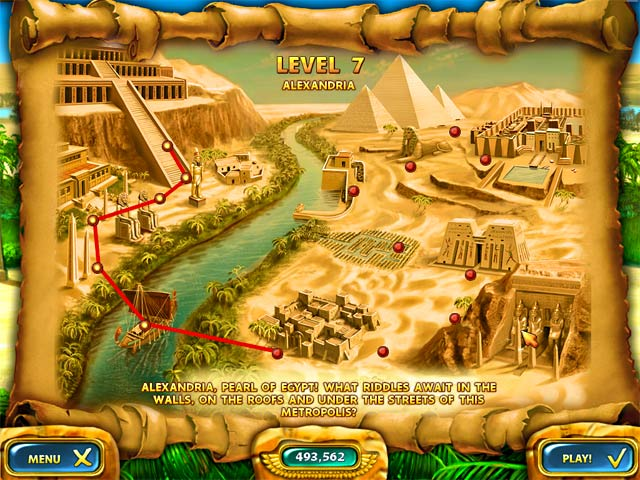 Mahjongg – Ancient Egypt Screenshot-2