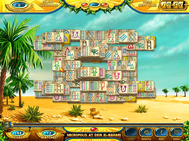 Game screenshot 3 Mahjongg - Ancient Egypt