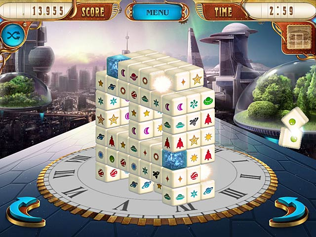 Mahjongg Dimensions Deluxe: Tiles in Time Screenshot-1