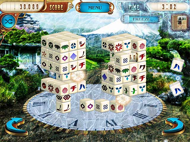 Mahjongg Dimensions Deluxe: Tiles in Time Screenshot-3