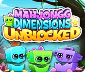Feature screenshot game Mahjongg Dimensions Unblocked