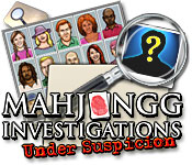 Feature screenshot game Mahjongg Investigation - Under Suspicion
