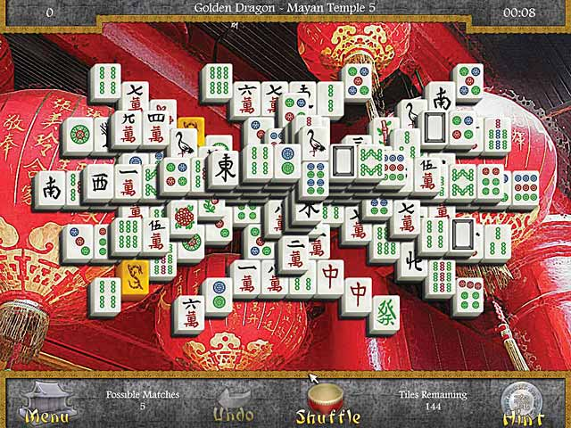 Game screenshot 2 Mahjongg: Legends of the Tiles
